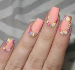 Simple easy spring nails art designs ideas