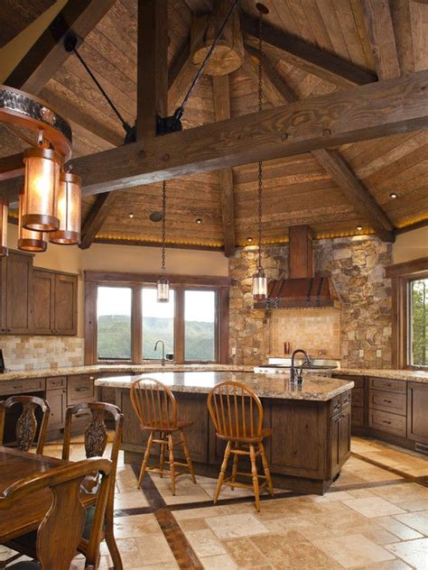 log cabin kitchen backsplash ideas 17 best ideas about cabin kitchens on log