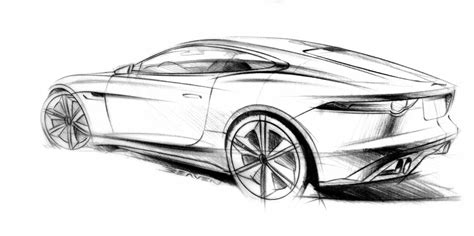 2011 Jaguar C-x16 Concept Supercar Supercars Drawing