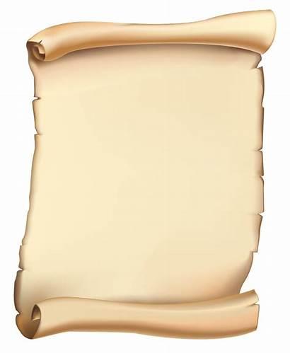 Scroll Clipart Transparent Parchment Yopriceville Scrolls Clip
