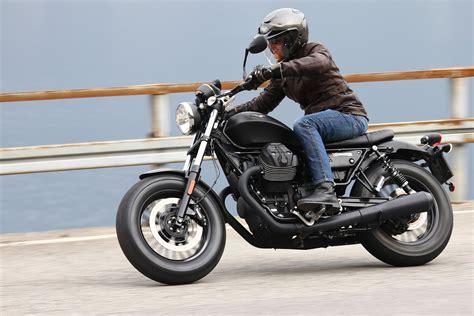 motorcycle helmet 2016 moto guzzi v9 bobber and v9 roamer ride review