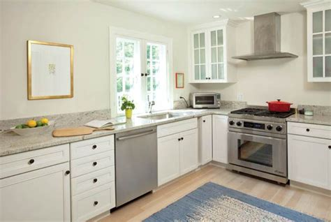 The Long Wall Of The #kitchen Design With No Upper