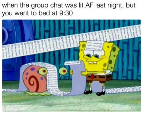 memes  send   group chat immediately