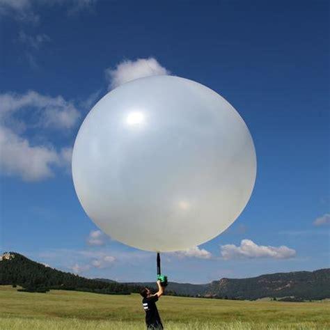 weather balloons balloon helium altitude burst filled fly intro feet water