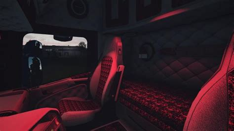 ets scania rjl white holland interior