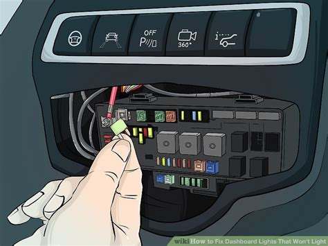 Fuse Box My Dashboard Light Are Out And When by 3 Ways To Fix Dashboard Lights That Won T Light Wikihow