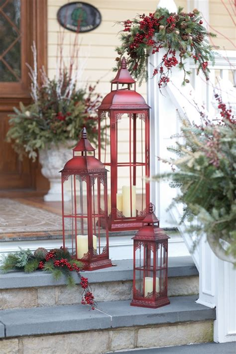 decorations lumineuses de noel pour exterieur 35 d 233 cor ideas in traditional and green digsdigs