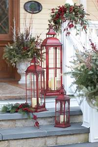 35 christmas decor ideas in traditional red and green With decoration pour jardin exterieur 14 deco maison geek