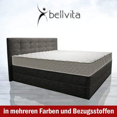 Bellvita Wasserbett Test by Bellvita Mesamoll Ii Boxspringbett Test 2018