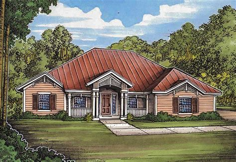 split bedroom southern ranch  covered lanai bg architectural designs house plans