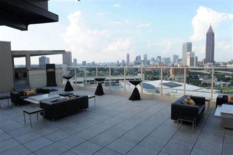 W Hotel Atlanta Rooftop Bar by Atlanta Rooftop Top Floor Restaurant Or Bar