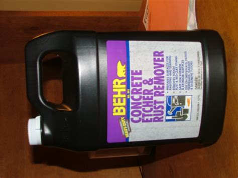 behr concrete etcher rust remover moped army