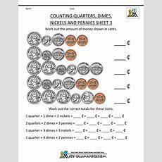 Free Printable Money Worksheets  Money Worksheets For Kids  Teacher Idea  Counting Money