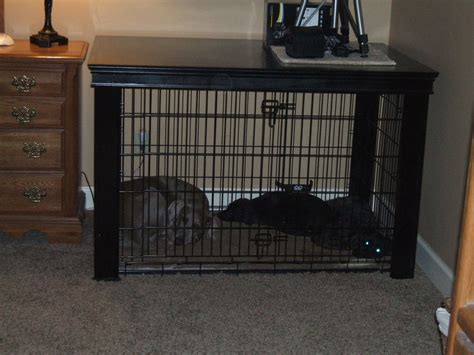 extra large dog crate table   david grimes