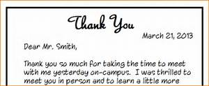 4 thank you note after job interview