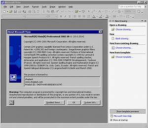 Office Visio Professional 2002  Xp