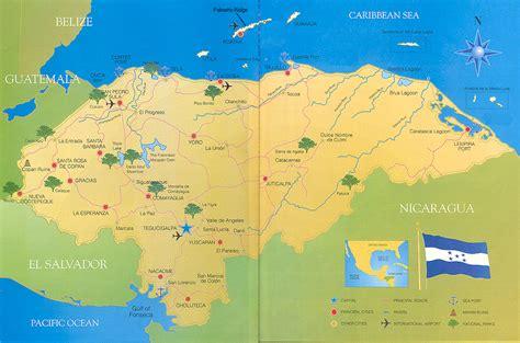 maps  honduras mission honduras lemars