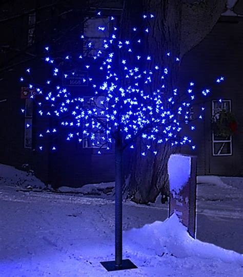 xmas tree cherry blossom christmas tree outdoor decoration