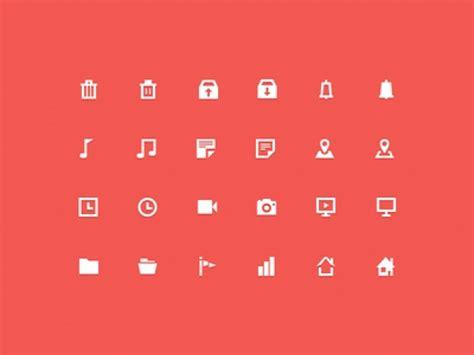 minimal icons  psd file