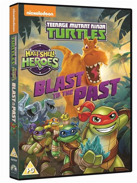 tmnt  shell heroes dvd review  speaks  home
