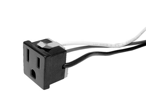 Edison Snap-In AC Outlet for Single Receptacle Stage Boxes ...