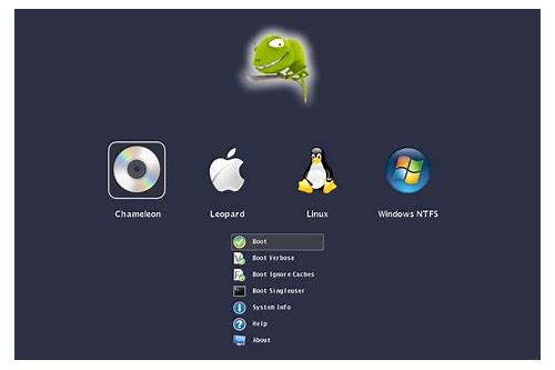descargar hackintosh chameleon bootloader installieren