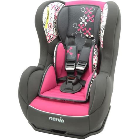 siege auto fille nania siège auto cosmo sp luxe isofix gr 1 fille achat