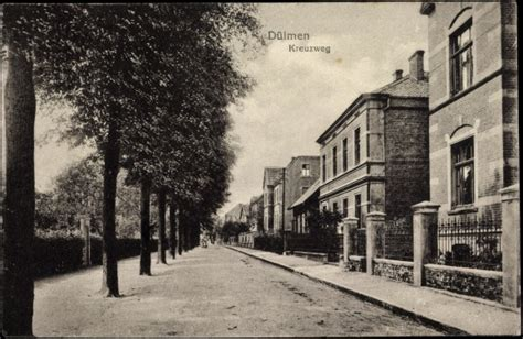 Häuser Kaufen Dülmen by Ansichtskarte Postkarte D 252 Lmen Westfalen Blick In Den