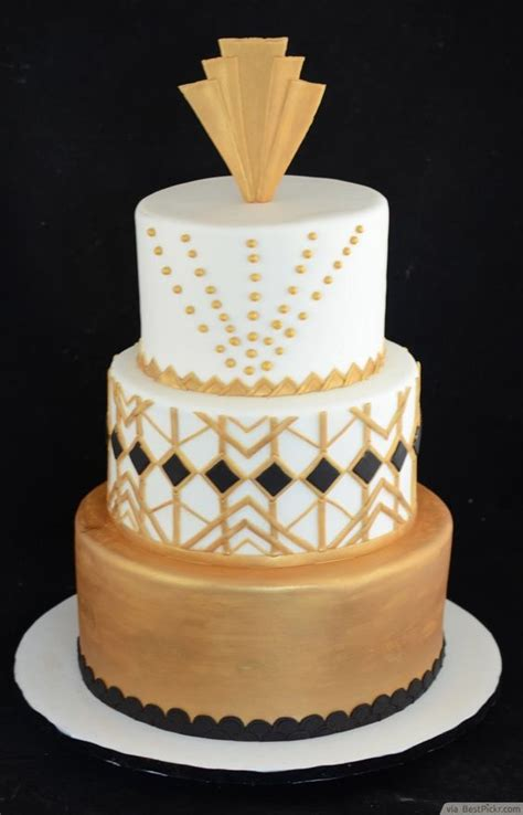 black  gold great gatsby decoration ideas http