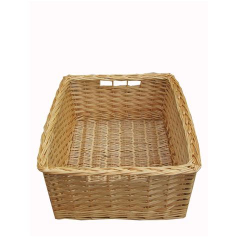 kitchen wicker baskets storage buy wicker storage basket kitchen drawer style from the 6477