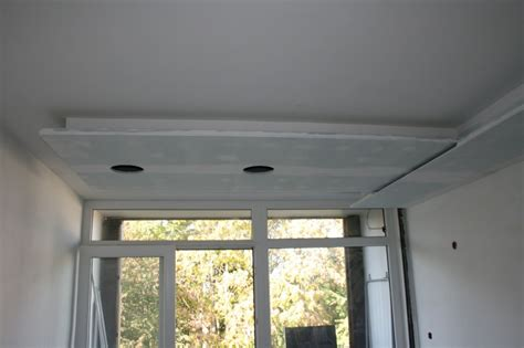 caisson ilot cuisine besoin conseil pour faire un coffrage en placo au plafond