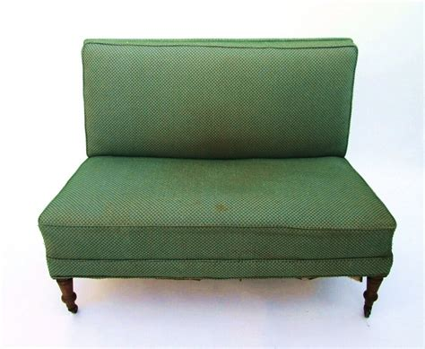 Sell My Settee by Antique Library Settee Seat 8 Way