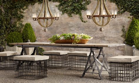 of gold en plein air provencal dining