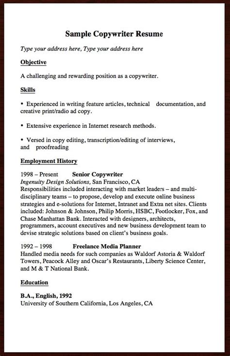 Your Own Resume by 1000 Images About Free Resume Sle On