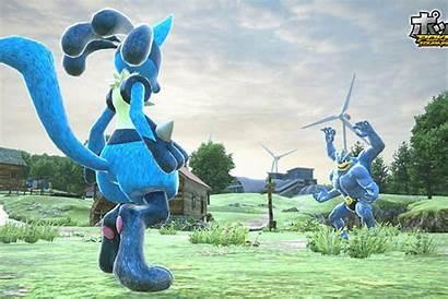 Fighting Tekken Pokemon Tournament Pokken Characters Play