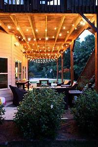 24, Jaw, Dropping, Beautiful, Yard, And, Patio, String, Lighting, Ideas, For, A, Small, Heaven