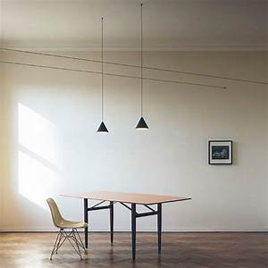 Clear Pendant Lights Flos String Light Cone Head 12mt Cable Eames Lighting