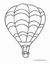 Balloon Air Coloring Pages Flying Sheet Sky Balloons Drawing Line Huge Printable Print Adult Surprise Unknown Sheets Getdrawings Fun Worksheets sketch template
