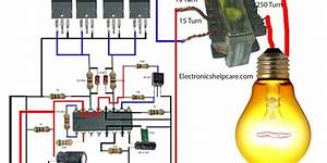 How To Make An Inverter  Using 12v To 220v  Electronics In