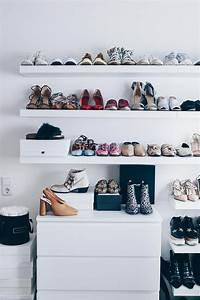 Schuhe Aufbewahren Ideen : meine schuhwand im ankleideraum schuhwand schuhaufbewahrung und ankleidezimmer ~ Markanthonyermac.com Haus und Dekorationen