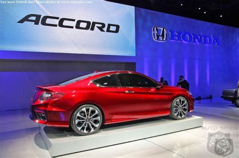 2018 Honda Accord Detroit Auto Show