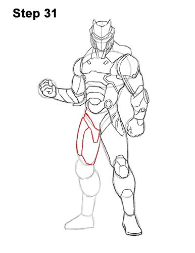 draw omega  fortnite video step  step pictures