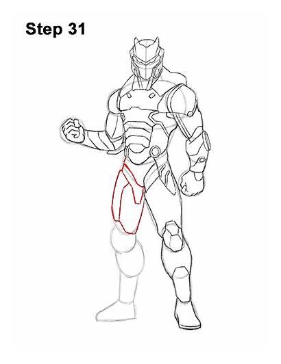 Omega Draw Fortnite Step Skin Easydrawingtutorials Max