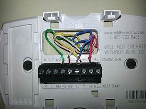 2 Wire Installation For Honeywell Thermostat Wiring Diagram