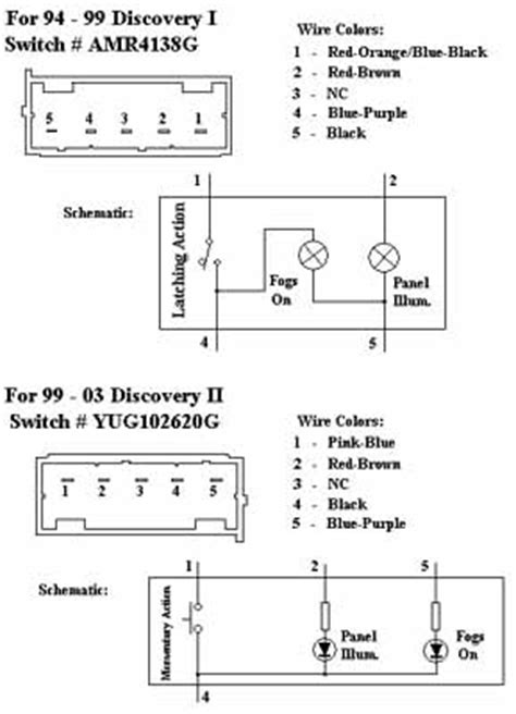 Rover Fog Light Wiring Diagram by Fog Light Wiring Landyzone Land Rover Forum
