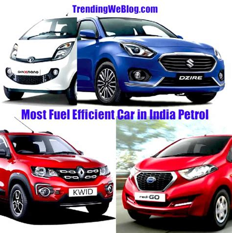 Top Fuel Mileage Cars by Best Mileage Car In India Top 10 Most Fuel Efficient Car