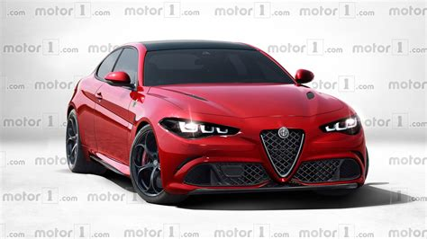 alfa romeo gtv imagined   stunning  hp giulia coupe