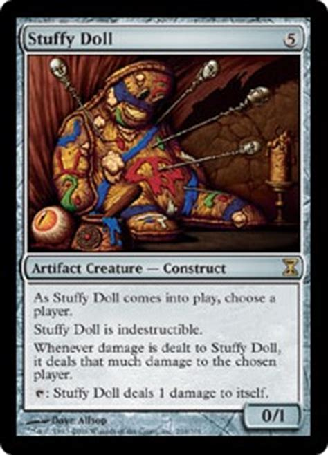 Stuffy Doll Edh Deck by Stuffy Doll And Creepy Doll Time Spiral And Innistrad