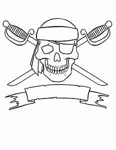 Piratas para colorear, pintar e imprimir