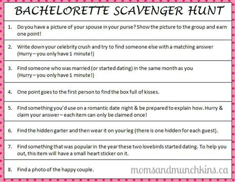 Halloween Appetizers For Adults With Pictures by Bachelorette Scavenger Hunt Moms Amp Munchkins